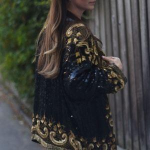 Joseph Le Bon - vintage bohemian silk jacket